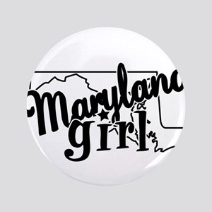 """Maryland Girl 3.5"""" Button"""