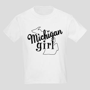 Michigan Girl Kids Light T-Shirt