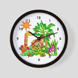 Safari Wall Clock