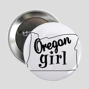 """Oregon Girl 2.25"""" Button"""