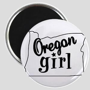 Oregon Girl Magnet