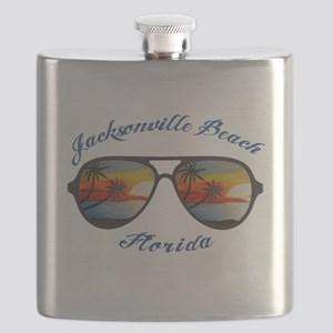 Florida - Jacksonville Beach Flask
