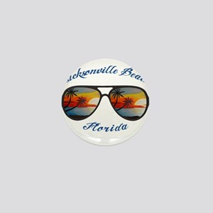 Florida - Jacksonville Beach Mini Button
