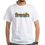 Fresh (CMYK) White T-Shirt