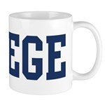 Colege (Navy) Mug