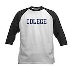 Colege (Navy) Kids Baseball Jersey