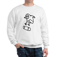 Skater Z (Black) Sweatshirt