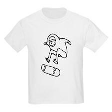 Skater Z (Black) Kids Light T-Shirt