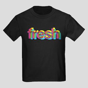 Fresh (CMYK) Kids Dark T-Shirt