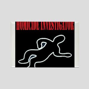 Homicide Investigator Rectangle Magnet (10 pack)