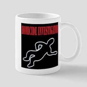 Homicide Investigator Mug