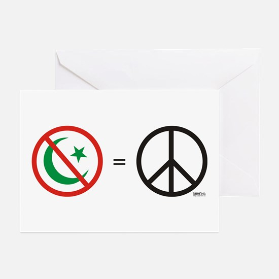 No Islam, Know Peace Greeting Cards (Pk of 10)