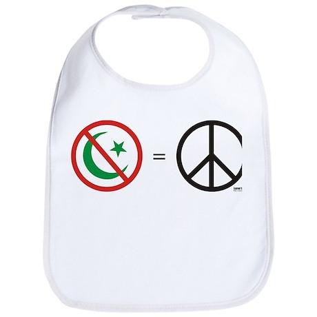 No Islam, Know Peace Bib