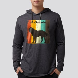 St. Bernard Retro 70s Vintage Long Sleeve T-Shirt