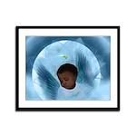 Heavenly Cradle (Closeup):Framed Panel Print