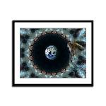 Cosmic Angel : Framed Panel Print