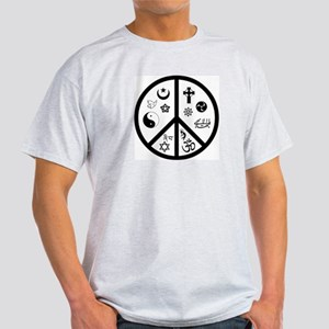 Peaceful Coexistence Ash Grey T-Shirt