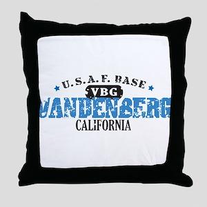 Vandenberg Air Force Base Throw Pillow