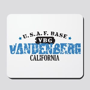 Vandenberg Air Force Base Mousepad
