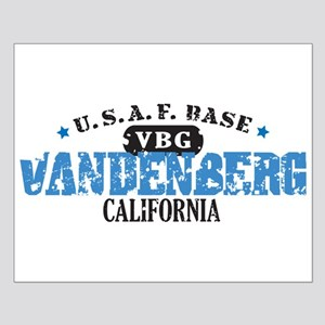 Vandenberg Air Force Base Small Poster