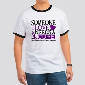 Needs A Cure CYSTIC FIBROSIS Ringer T
