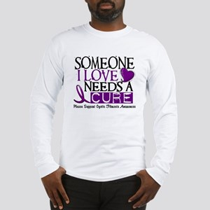 Needs A Cure CYSTIC FIBROSIS Long Sleeve T-Shirt