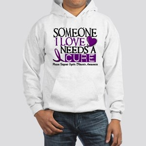 Needs A Cure CYSTIC FIBROSIS Hooded Sweatshirt