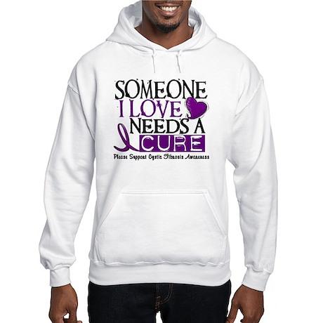 Needs A Cure CYSTIC FIBROSIS Hooded Sweatshirt