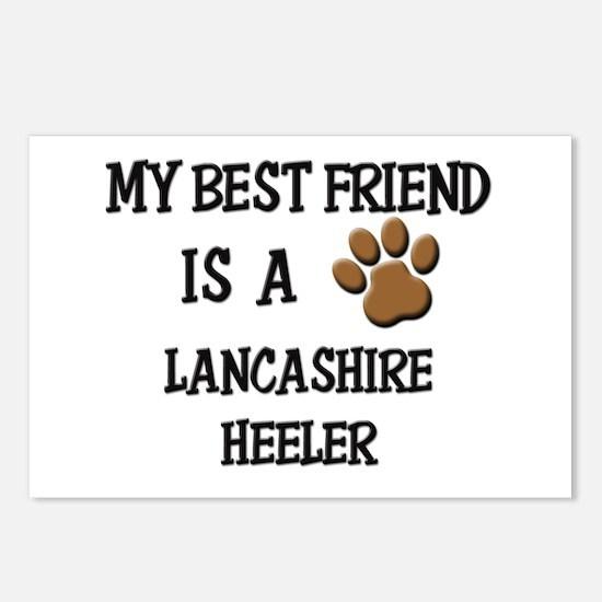 My best friend is a LANCASHIRE HEELER Postcards (P