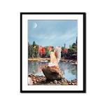 Angel 270 : Framed Panel Print