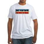 Admit It! Fitted T-Shirt