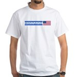 Don't Shackle Israel White T-Shirt