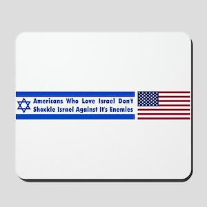 Don't Shackle Israel Mousepad