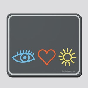 I-Love-Sunshine - Mousepad