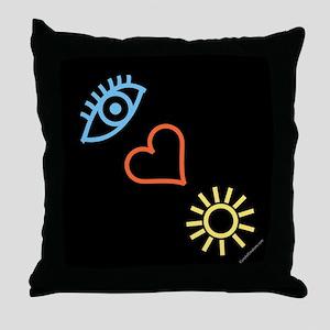 I-Love-Sunshine - Throw Pillow