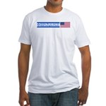 Don't Shackle Israel Fitted T-Shirt
