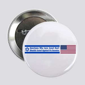 Don't Shackle Israel Button