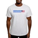 Don't Shackle Israel Ash Grey T-Shirt