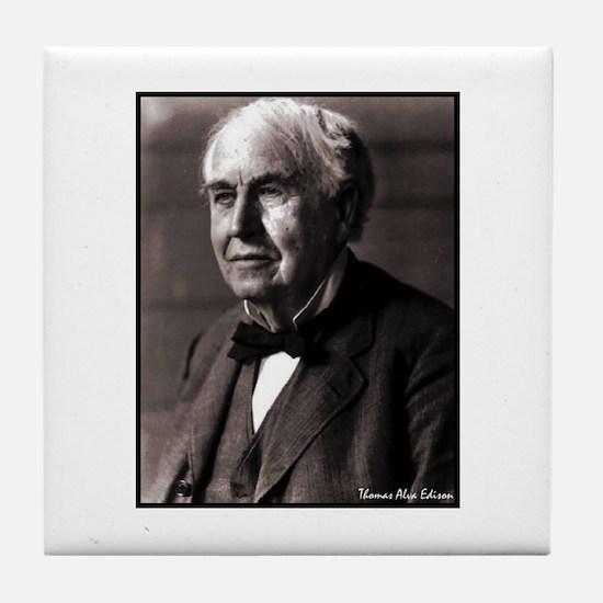 """Faces """"Edison"""" Tile Coaster"""