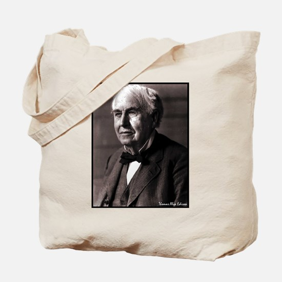 "Faces ""Edison"" Tote Bag"