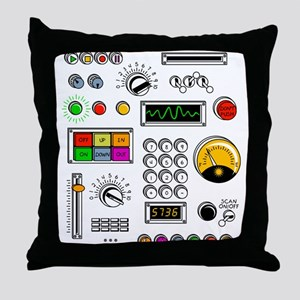 Robot Me! Throw Pillow
