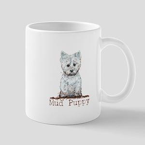 Mud Puppy Westie Terrier Mug