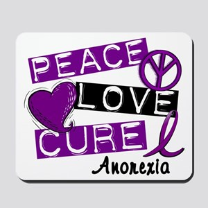 PEACE LOVE CURE Anorexia (L1) Mousepad