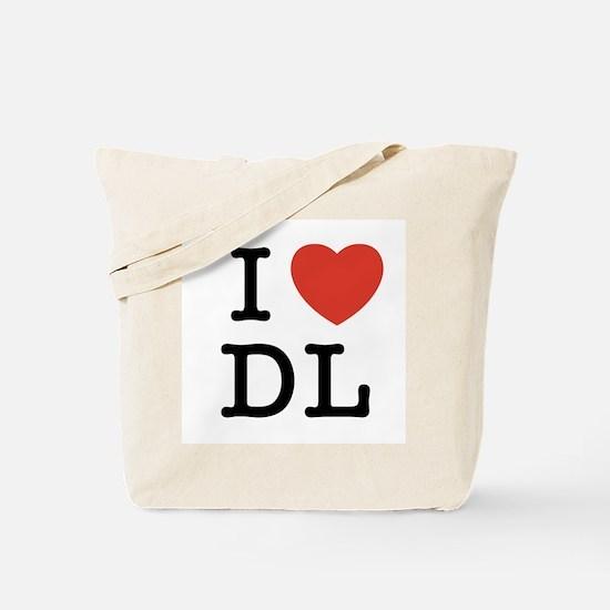 I Heart DL Tote Bag