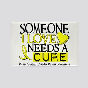 Needs A Cure BLADDER CANCER Rectangle Magnet