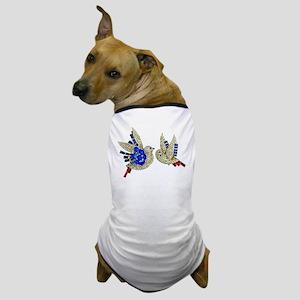 Rhinestone Birds Dog T-Shirt