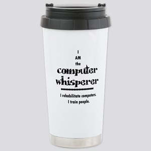 Computer Stainless Steel Travel Mug