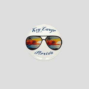 Florida - Key Largo Mini Button