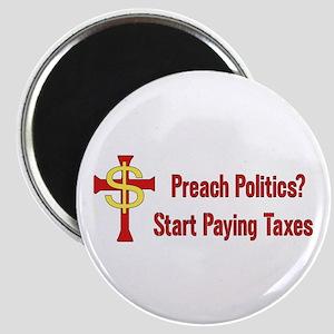 Tax The Churches Magnet