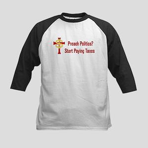 Tax Political Churches Kids Baseball Jersey